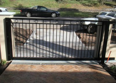 Large Project with various Fence panels, Sliding gate with Automation, Pedestrian Gate